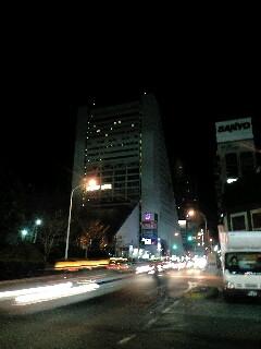 夜の中野サンプラザ