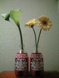 花を飾ります