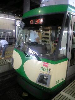 「世田谷線」乗車