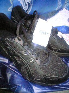 新しい靴(*^-^)b
