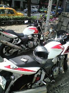 兄弟なバイク