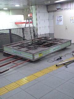 地下鉄の売店