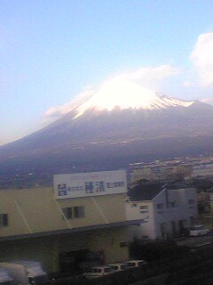 子供の頃に見た富士山
