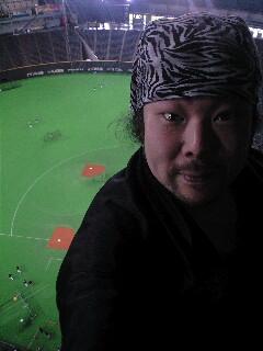 札幌ドームからこんにちは!