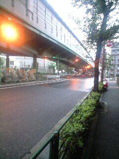 午前5時半の天気