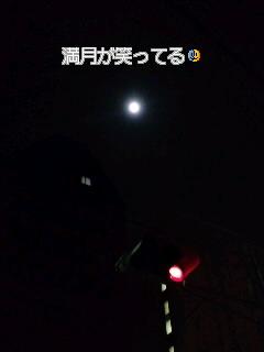 月が笑ってるように見える夜は気分が良いかも。