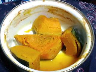 カボチャの煮物、リベンジ