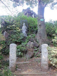 富士塚に七福神
