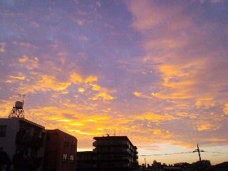 午前4:45頃の空