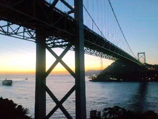 鹿児島行き、夜明け