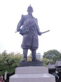 大阪の城、秀吉にあやかって
