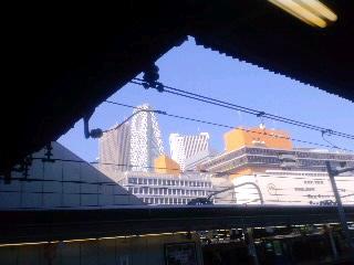 旅立ちの駅、新宿