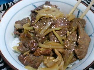味付けは、生姜焼き
