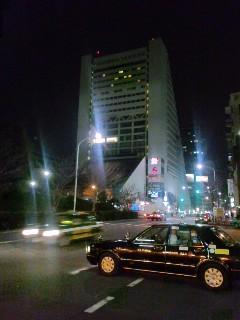 中野から歩いて帰った夜