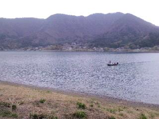 河口湖外周