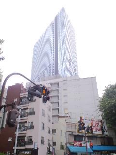 雨の西新宿