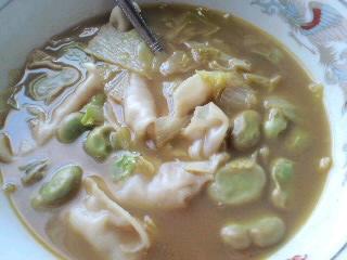 朝カレースープ